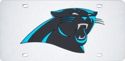 Stockdale Carolina Panthers Mirror Logo License Plate