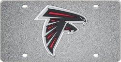 Stockdale Atlanta Falcons Glitter Logo License Plate