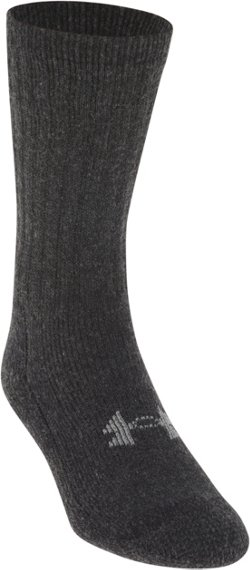 Under Armour Adults' ColdGear Boot Crew Socks 2 Pack