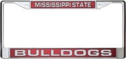 Rico Mississippi State University Laser-Cut License Plate Frame