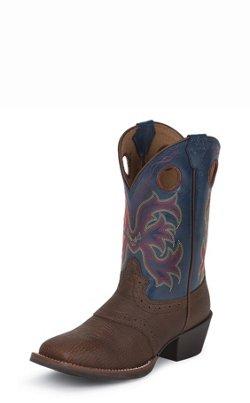 Justin Kids' Stampede Rawhide Western Boots