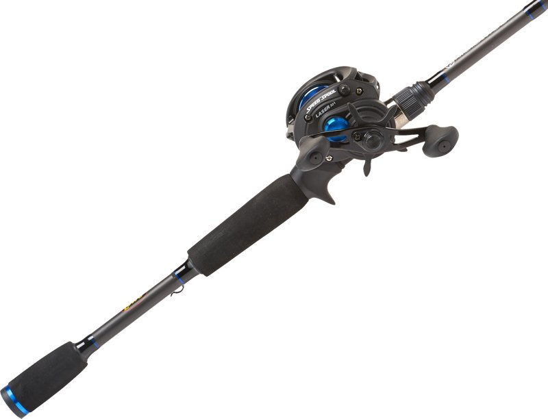 Lew's American Hero 7′ MH Baitcast Rod and Reel Combo Black – Fishing Combos, Baitcast Combos at Academy Sports