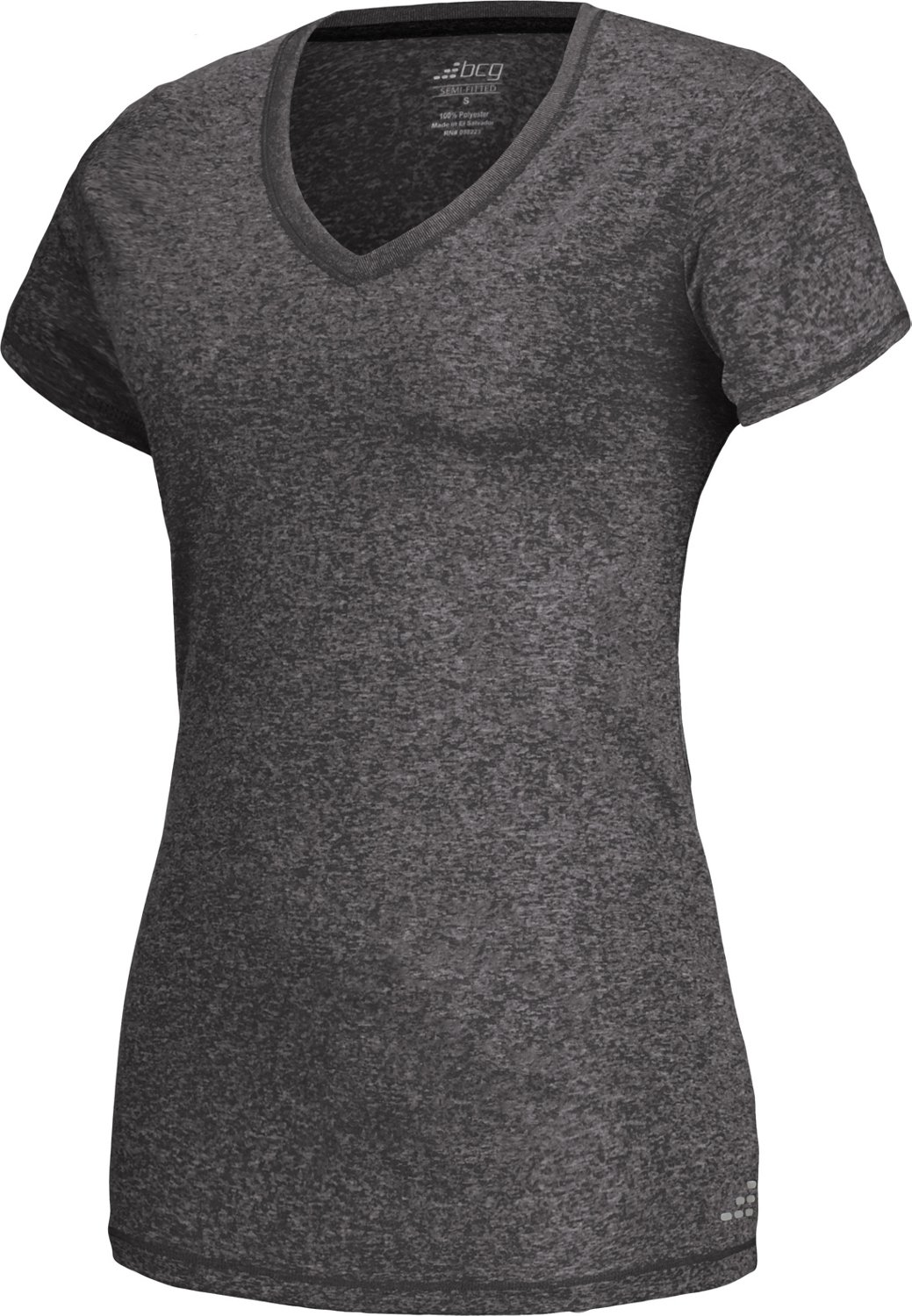 c29002af2641 Display product reviews for BCG Women's Heather V-neck Training Tech T-shirt