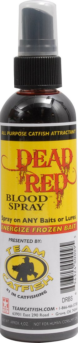 Team Catfish Dead Red 4 oz. Blood Spray