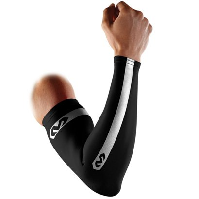 87edb5eb50 ... McDavid Adults' Reflective Compression Arm Sleeves 2-Pack. Wrist &  Elbow Braces. Hover/Click to enlarge