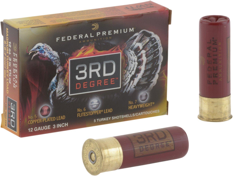 Federal Premium® 3rd Degree Multishot 12 Gauge Turkey Shotshells
