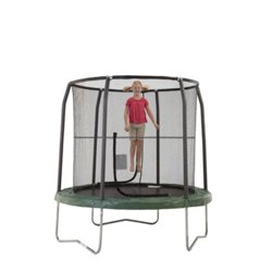 Bazoongi Jumppod 7.5' Round Trampoline with Enclosure