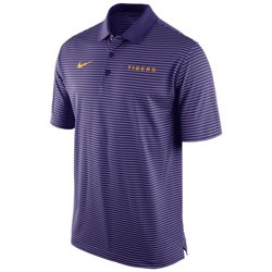 Nike Men's Louisiana State University Stadium Performance Polo Shirt