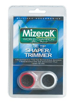 Mizerak™ Billiard Cue Tip Shaper/Trimmers 2-Pack
