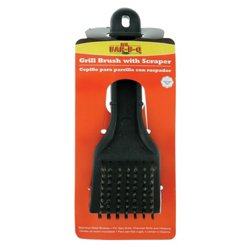 "Mr. Bar-B-Q 8"" Grill Brush with Scraper"