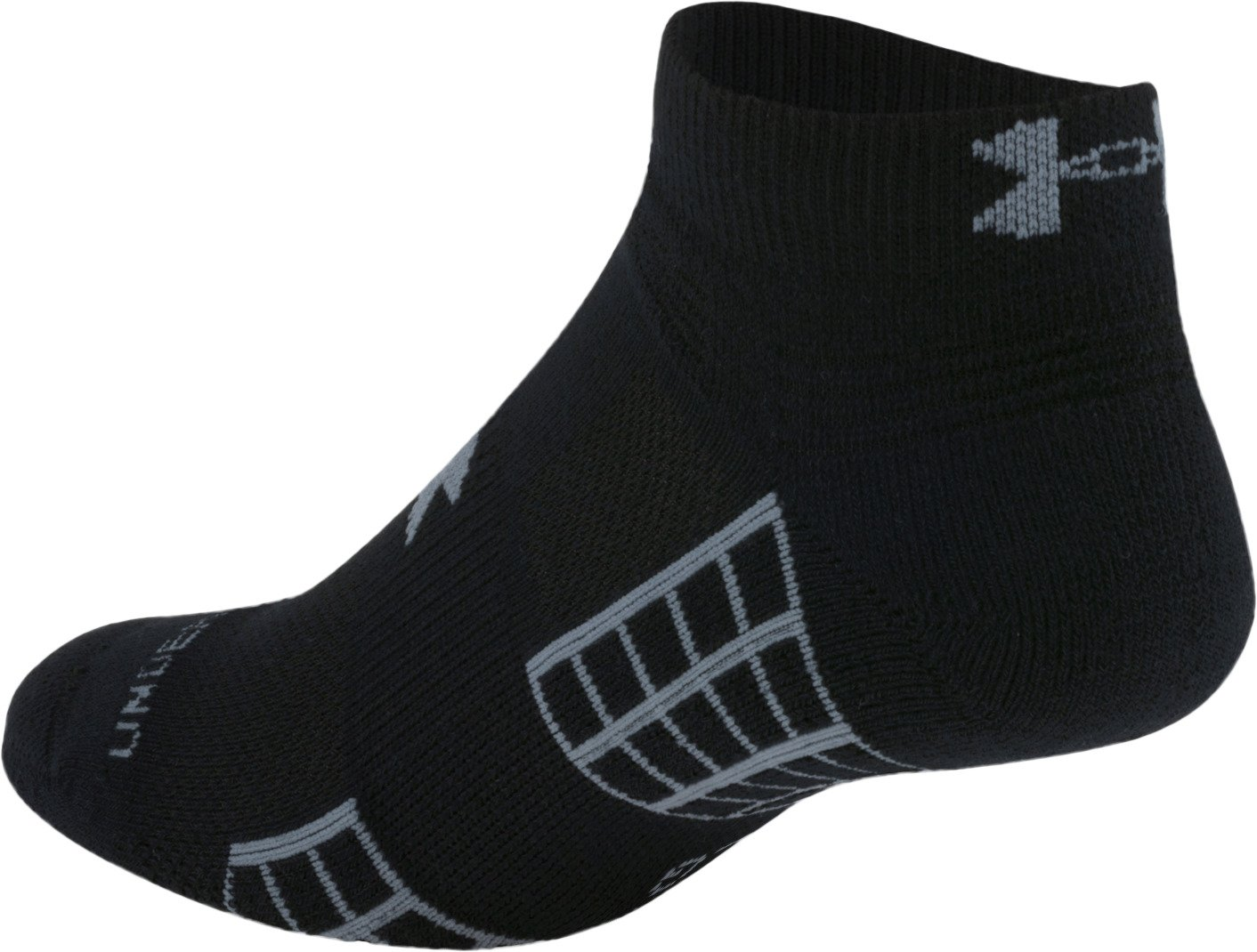 Under Armour Adults' HeatGear No-Show Golf Socks - view number 1