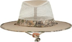 Men's Big Brim Twill Safari Hat