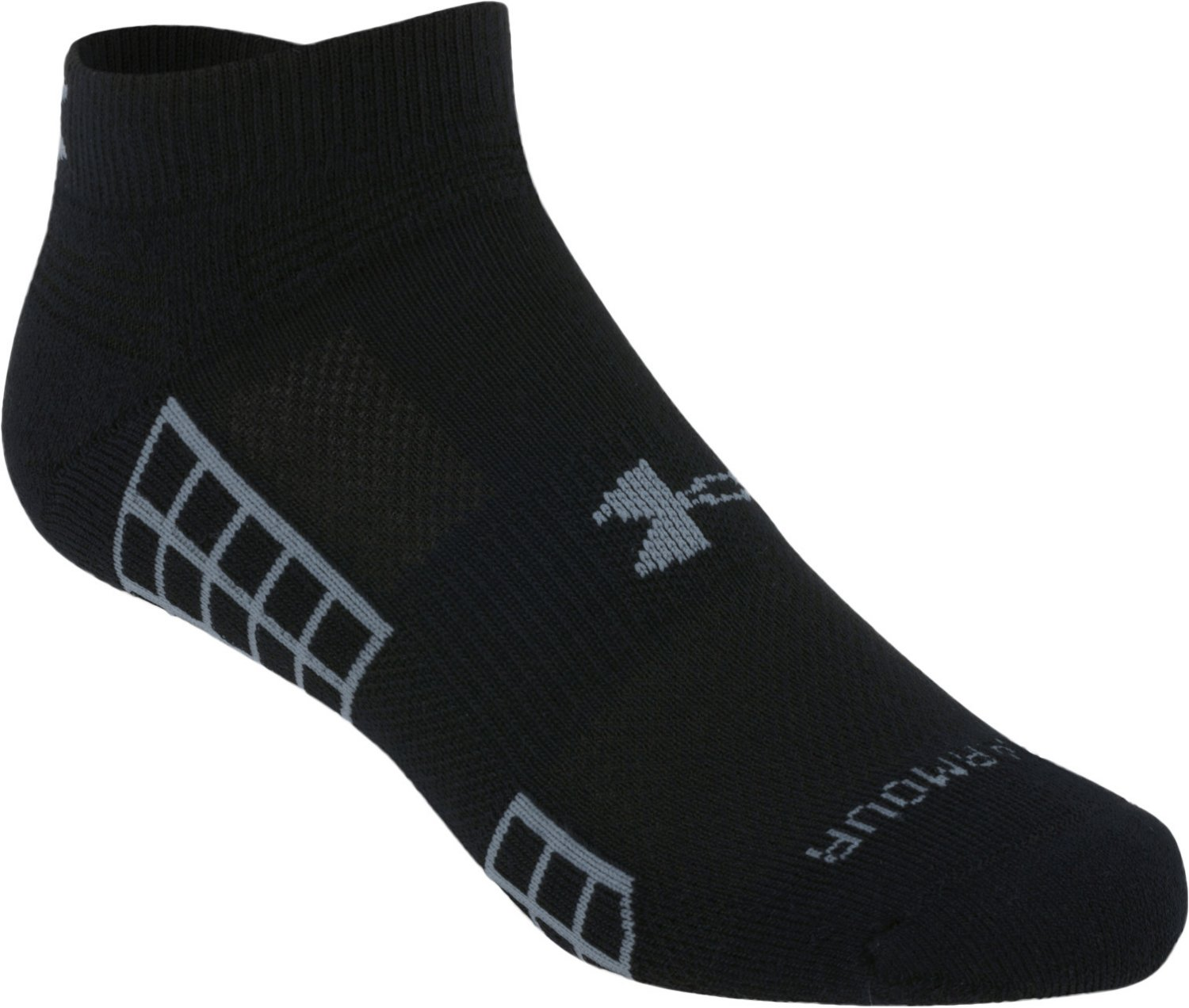Under Armour Adults' HeatGear No-Show Golf Socks - view number 2