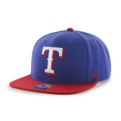 Men's Texas Rangers Sure Shot 2-Tone Captain Cap
