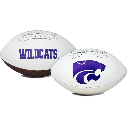 Jarden Sports Licensing Kansas State University Signature Series Full Size Football with Autograph P