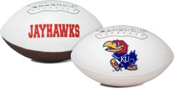 Jarden Sports Licensing University of Kansas Signature Series Full Size Football with Autograph Pen