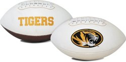 Jarden Sports Licensing University of Missouri Signature Series Full Size Football with Autograph Pe