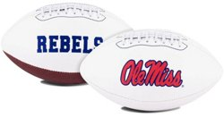 Jarden Sports Licensing University of Mississippi Signature Series Full Size Football with Autograph