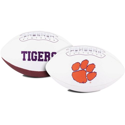 Jarden Sports Licensing Clemson University Signature Series Full Size Football with Autograph Pen