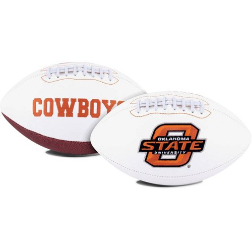 Jarden Sports Licensing Oklahoma State University Signature Series Full Size Football with Autograph
