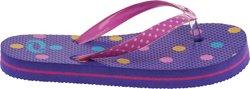 O'Rageous Girls' Polka Dot Flip Flop Thong Sandals