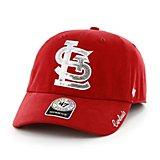 premium selection 4e3f7 d9f5f Women s St. Louis Cardinals Sparkle Team Color Clean Up Cap Quick View.  47