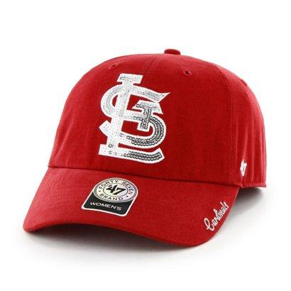 3592e8c6ae8e6 ...  47 Women s St. Louis Cardinals Sparkle Team Color Clean Up Cap. St. Louis  Cardinals Hats. Hover Click to enlarge