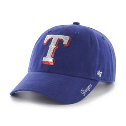 Women's Texas Rangers Sparkle Clean Up Cap