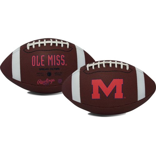 Rawlings® University of Mississippi Game Time Football
