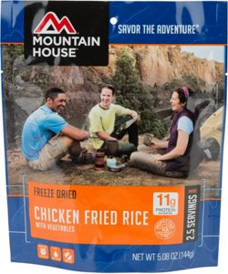 Mountain House® Freeze-Dried Chicken Fried Rice Pouch