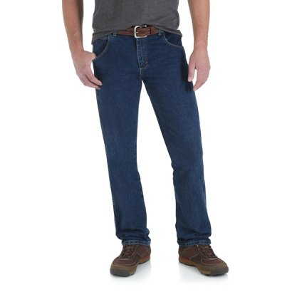 3b404166 ... Wrangler Men's Rugged Wear Advanced Comfort Regular Straight Jean. Men's  Pants. Hover/Click to enlarge