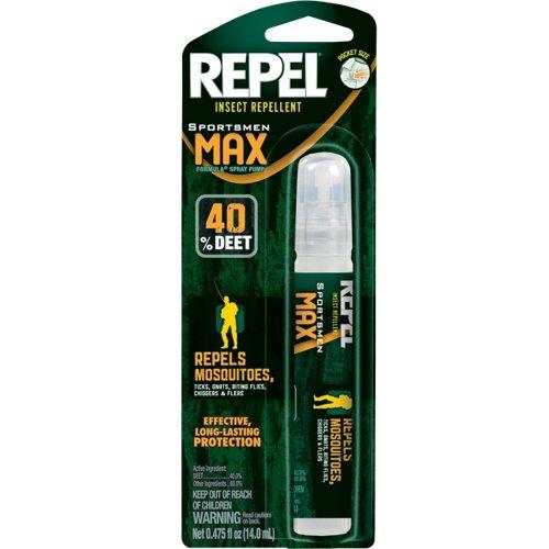 Repel Sportsman Max Formula Insect Repellent Pen-Size Pump Spray