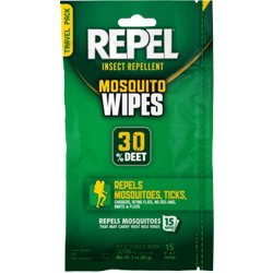 Sportsman Formula Insect Repellent Wipes 15-Pack