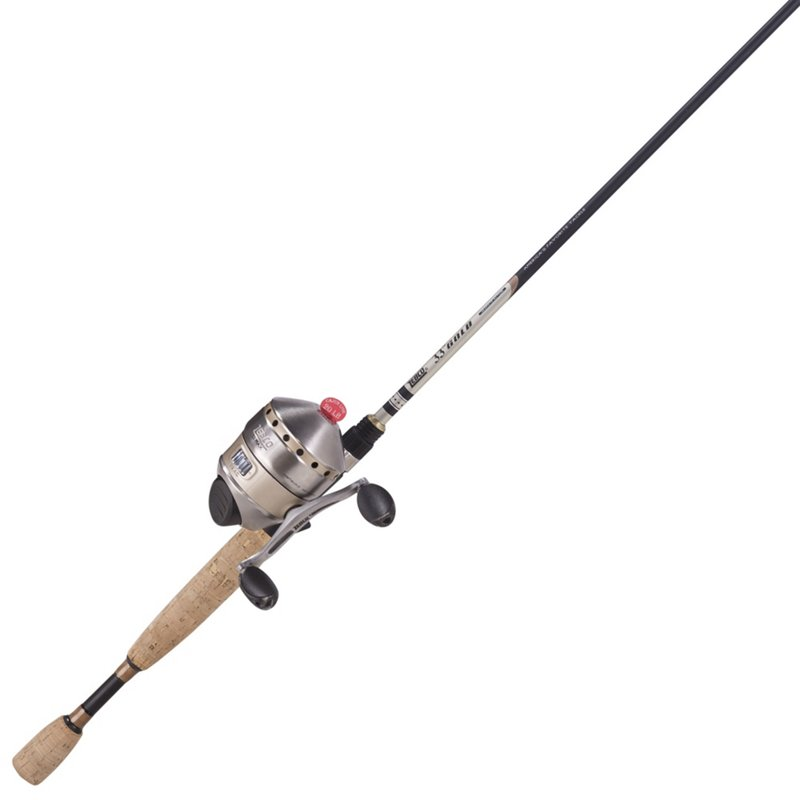 Zebco 33 Max Gold 6'6″ MH Freshwater Spincast Rod and Reel Combo Black – Fishing Combos, Spincast Combos at Academy Sports