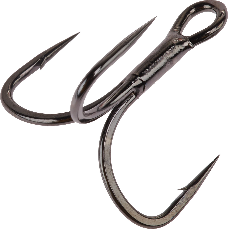Gamakatsu Short Shank EWG Treble Hooks 6-Pack