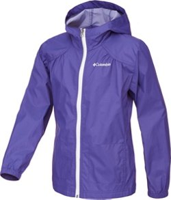 Columbia Sportswear Girls' Switchback Rain Jacket
