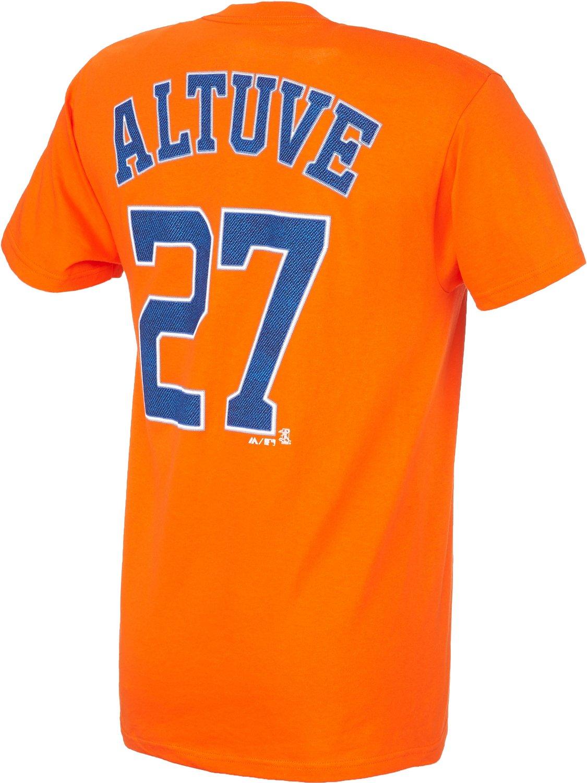 14f019713b9b3 Majestic Men's Houston Astros José Altuve #27 T-shirt | Academy