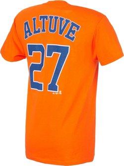 Majestic Men's Houston Astros José Altuve #27 T-shirt