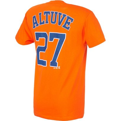 29bad308b ... Majestic Men s Houston Astros José Altuve  27 T-shirt. Astros Clothing.  Hover Click to enlarge