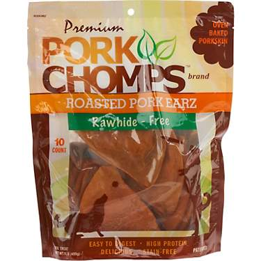 Pork Chomps Premium Roasted Pork Earz 10-Pack