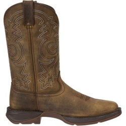 Men's Square-Toe Pull-On Western Boots
