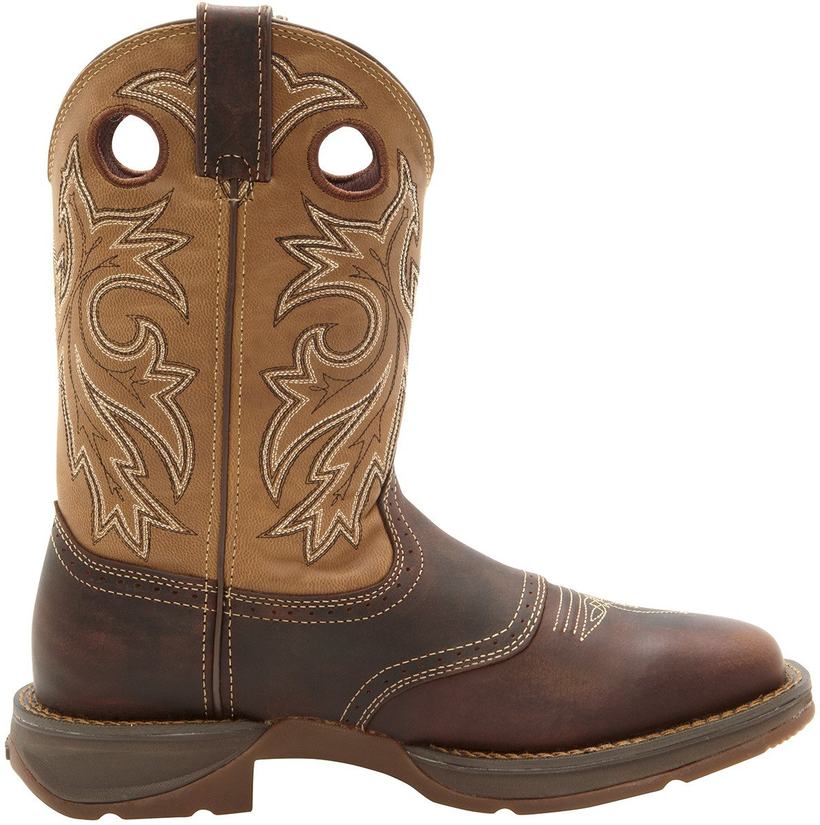 d30dadb7943 Durango Men's Rebel Pull-On Western-Style Work Boots