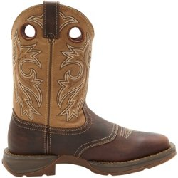 Men's Rebel Pull-On Western-Style Work Boots