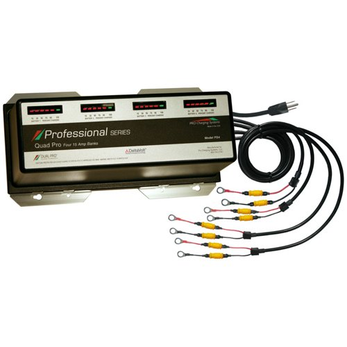 Dual Pro Professional Series 4-Bank On-Board Charger