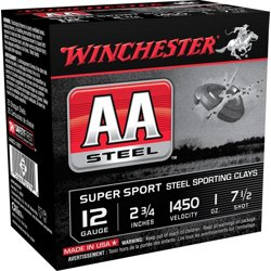 AA Super Sport Steel Sporting Clays 12 Gauge Shotshells
