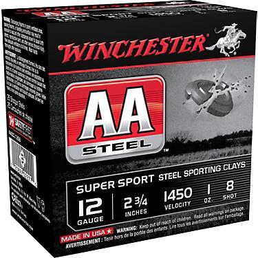 Winchester AA Super Sport Steel Sporting Clays 12 Gauge Shotshells