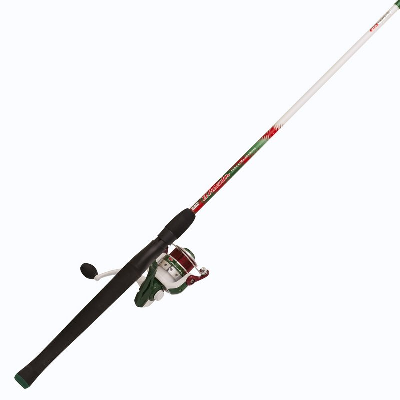 Zebco El Pescador 7′ M Freshwater Spinning Rod and Reel Combo White – Fishing Combos, Spinning Combos at Academy Sports