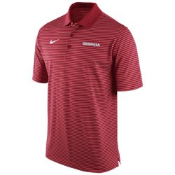 Nike Men's University of Georgia Stadium Performance Polo Shirt