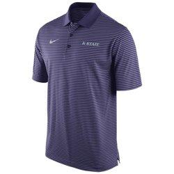 Nike Men's Kansas State University Stadium Performance Polo Shirt