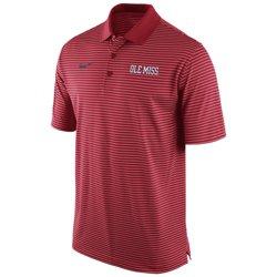 Nike Men's University of Mississippi Stadium Performance Polo Shirt